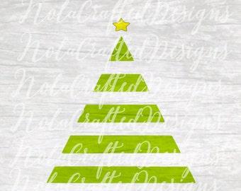 Christmas Tree Svg - Christmas Tree Png - Merry Christmas Svg - Merry Christmas Png - Boys Christmas Svg - Boys Christmas Png - Silhouette
