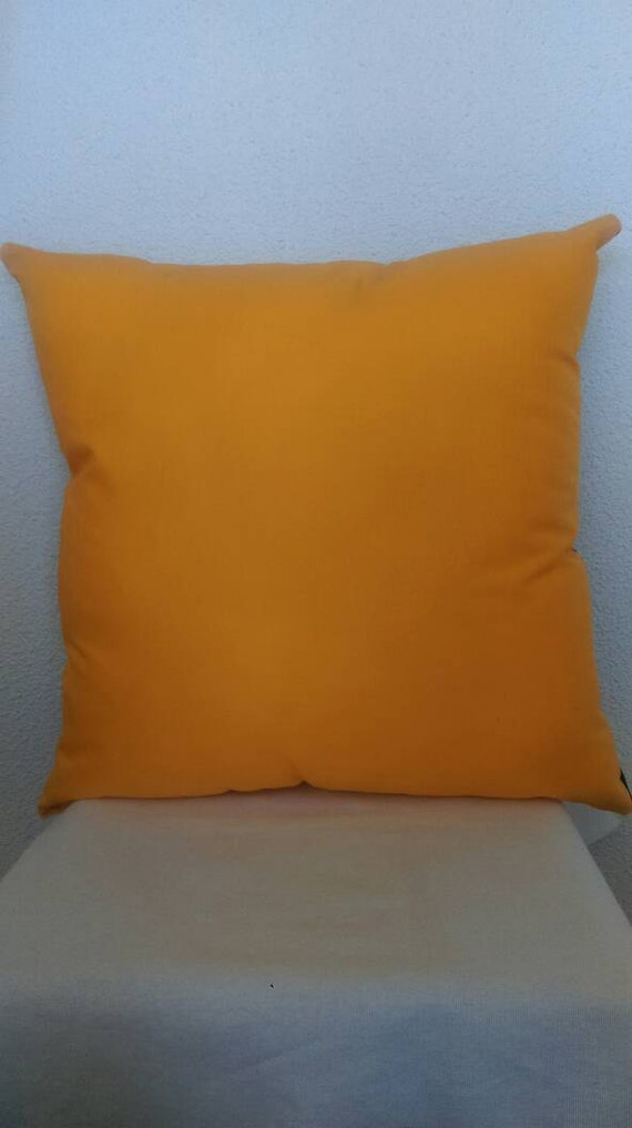 Goldenrod Throw Pillow : Solid Goldenrod Accent Throw Pillow