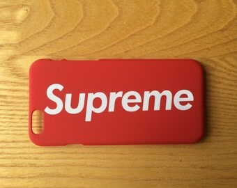 SUPREME NYC RED iPhone 6/6S Case/Cover/Protector New and Unused
