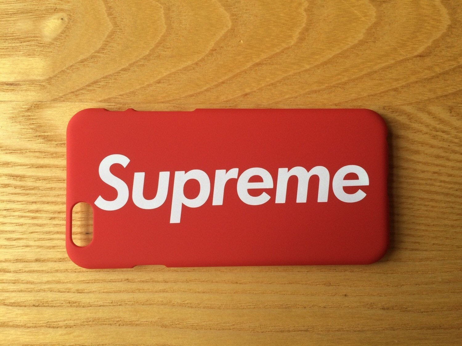supreme nyc red iphone 6 6s case cover protector new and. Black Bedroom Furniture Sets. Home Design Ideas