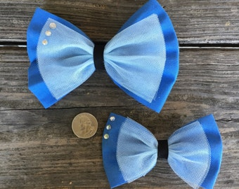 Cinderella inspired bow - 2 sizes