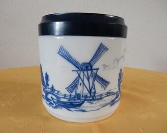 Small Opaline pot