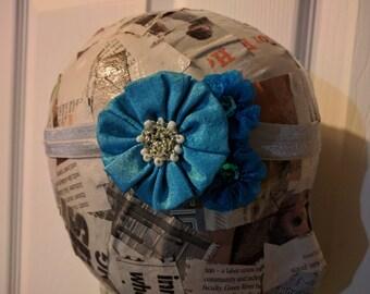 Elastic Floral Headbands
