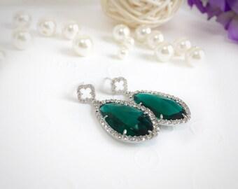 Emerald wedding mother of the bride