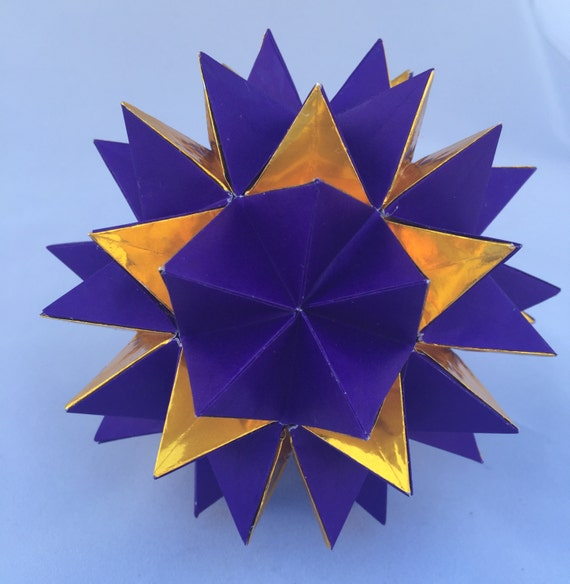 Revealed Flower Origami Ball