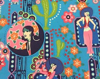 Fabric - Ranchera Blue - Alexander Henry Fabrics