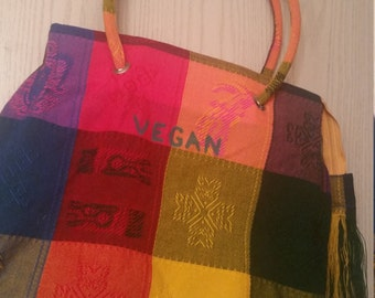 Colorful Vegan Purse