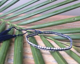 Suka Bracelet Navy Blue