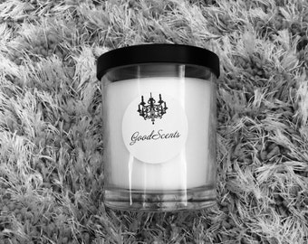 Black Cherry                                           200ml Handpoured Handscented Handmade Eco-Friendly Soy Candle.