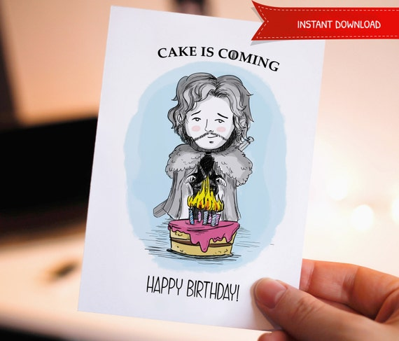 Funny Happy Birthday Printable Birthday Card Game Of