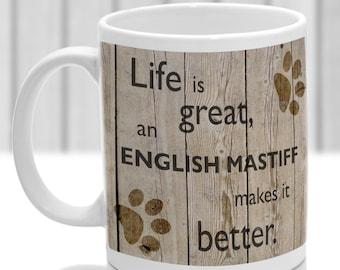 English mastiff etsy - Einweihungsparty auf englisch ...