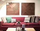 Custom for Local Austinites. Geometric Wall Art, Modern Wall Art, Modern Wood Art, Geometric Wood Art, Wood Wall Art