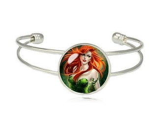 Poison Ivy Cuff Bangle Bracelet Fandom Jewelry Poison Ivy Cosplay Fangirl Fanboy