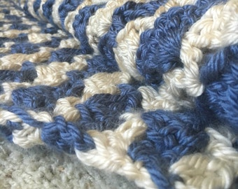 Large Afghan//Crochet Blanket
