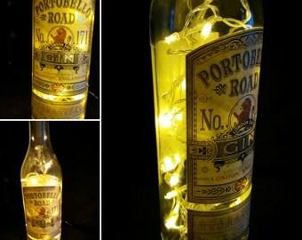 Portobello Road Gin LED Botte Lamp