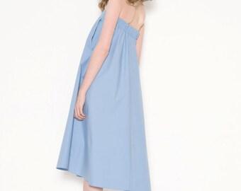 A-line dress-skirt with pockets