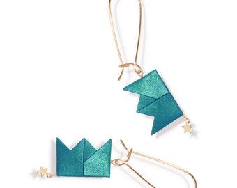 Earrings - Drama Queen - Emerald