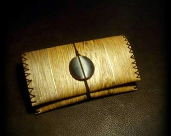 Imitation wood tobacco pouch, plastic tobacco pouch, wooden pouch