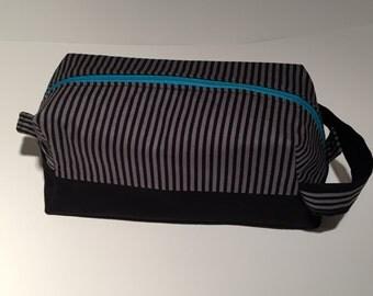 XL bag black grey mens washbag gift