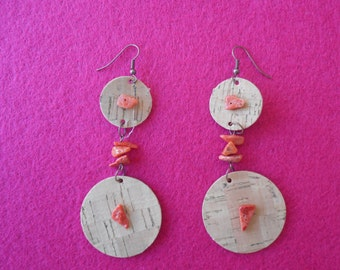 Earrings horse mackerel