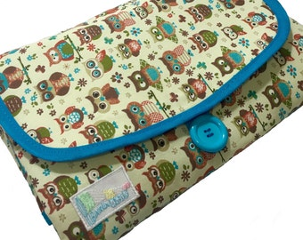 Baby Diaper Changing Pad - Owl