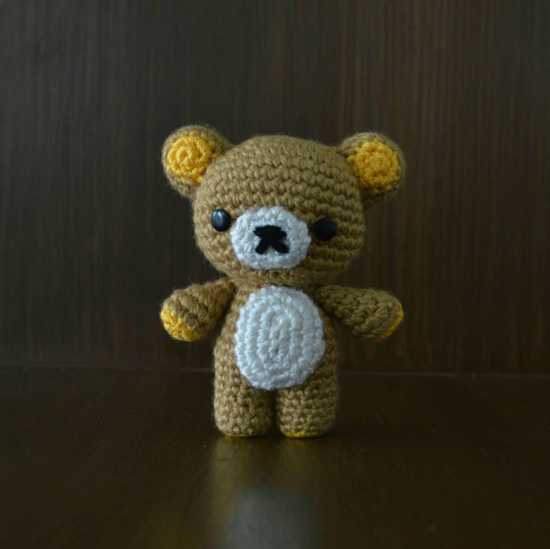 Amigurumi Rat : Rilakkuma. Amigurumi doll.