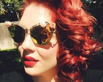 She Flew Sunglasses