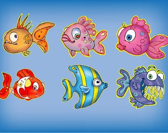 fish sweet illustrations