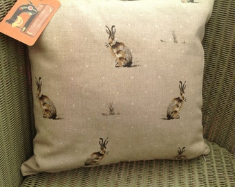Hare Cushion with Pad