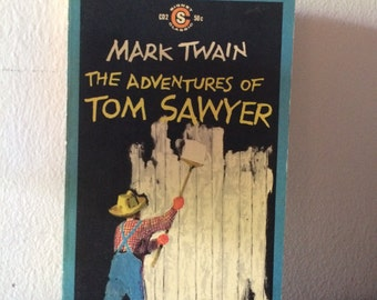 The Adventures of Tom Sawyer by Mark Twain 1959 Signet Classic