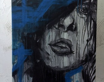 Oil Painting Abstract Woman