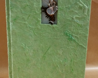 Nature inspired tall journals - with 2 variations