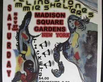Rolling Stones Concert Poster 12'x18' Reproduction // Rock // Mick Jagger //