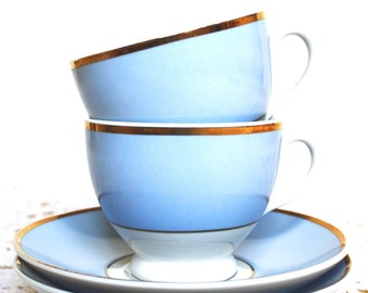 Doulton Teacups and Saucers - Set of 2