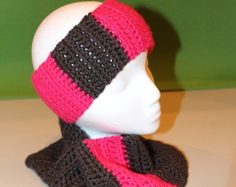 Crochet Headband & Cowl