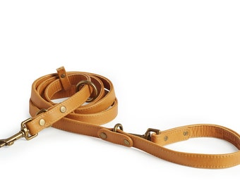 3 in 1 Leather Dog Leash