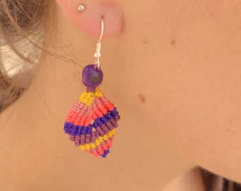 earring leaves