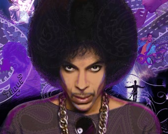 Prince Limited Edition Canvas Print