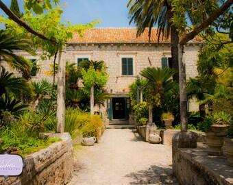 Summer Residences in the Trsteno Arboretum