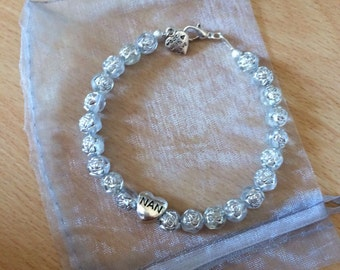 Bautiful charm bracelet hand made