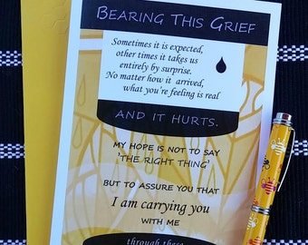 Bearing this Grief