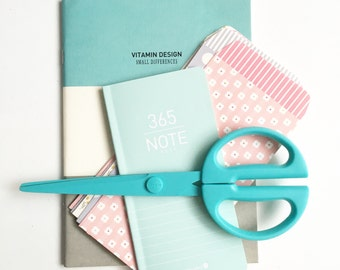 Turquoise Creative Flat Lay Photo