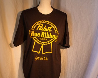 Pabst Blue Ribbon Large T Shirt