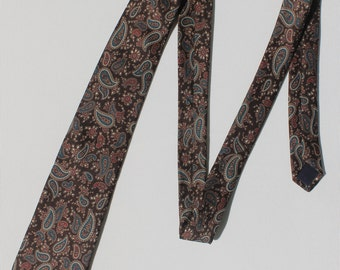 Paisley All Silk Tie Made in U.S.A.
