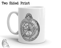 Astrolabe Coffee / Tea Mug, Astronomy, Navigation, Astrology, Science, Antique, Cute Gift