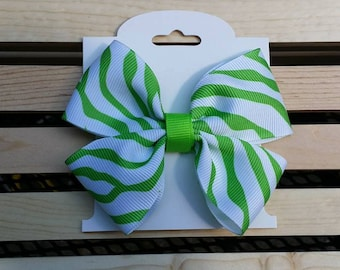 4-Inch Double Hairbow