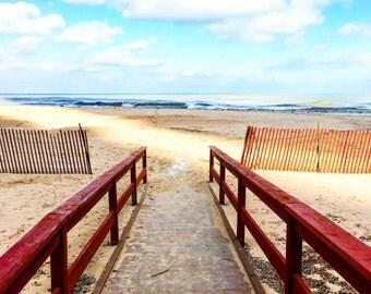 Oak Street Beach, Empty Beach, Chicago Beaches, Chicago Photography, Chicago Wall Art