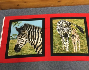 Zebras by Exclusively Quilters