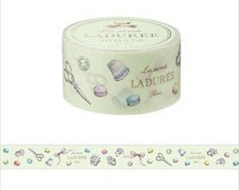 LADUREE charm washi tape decoration