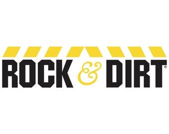 Rock & Dirt vinyl decal